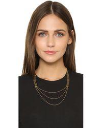 Gorjana - Metallic Gold Rush Layer Necklace - Lyst