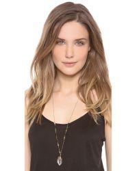 Heather Hawkins - Metallic Fall Necklace - Lyst