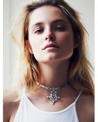 Free People - Metallic Isabel Choker - Lyst