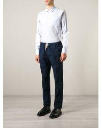 Soulland - Blue 'keller' Trousers for Men - Lyst