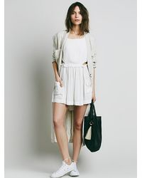 Free People | Natural Endless Summer Womens Pockets Full Of Roses Mini | Lyst