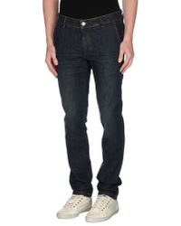 Alessandro Dell'acqua - Blue Denim Trousers for Men - Lyst
