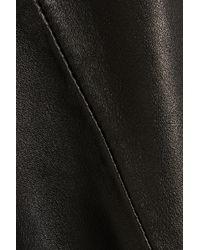 Iris & Ink - Black Candice Leather Dress - Lyst