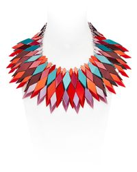 Silvia Rossi - Red Fire-sun Necklace - Lyst