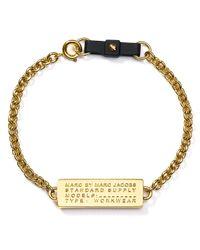 Marc By Marc Jacobs - Metallic Standard Supply Bow Tie Bracelet - Lyst