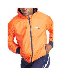 Ralph Lauren | Orange Solid Full-zip Jacket for Men | Lyst