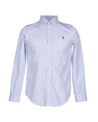 Ralph Lauren - Blue Shirt for Men - Lyst