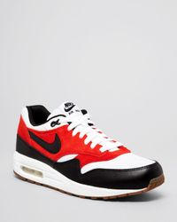 Nike - Red Air Max 1 Essential Sneakers for Men - Lyst