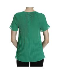 MICHAEL Michael Kors | Green Top | Lyst