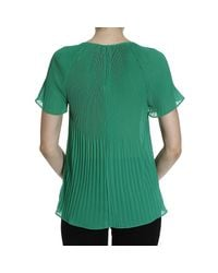 MICHAEL Michael Kors - Green Top - Lyst
