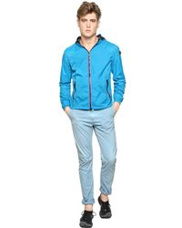 Ai Riders On The Storm | Blue Total Zip Up Water Repellent Wind Breake for Men | Lyst