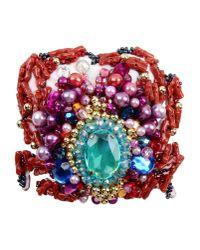 Stella Jean | Purple Brooch | Lyst