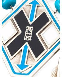 KTZ - Blue Oversized Necklace - Lyst