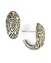 John Hardy - Metallic Naga Shrimp Earrings - Lyst