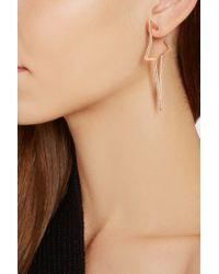Diane Kordas - Pink Star 18-karat Rose Gold Diamond Earrings - Lyst