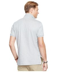 Polo Ralph Lauren | Gray Big And Tall Pima Soft-touch Polo Shirt for Men | Lyst