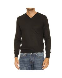 Cruciani | Black Sweater Man for Men | Lyst