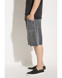 Forever 21 | Gray Alternative Apparel Victory Burnout Sweatshorts for Men | Lyst