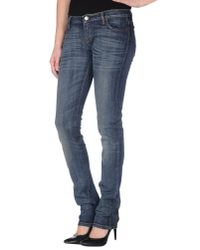 Ring - Blue Denim Pants - Lyst