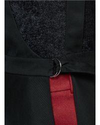 3.1 Phillip Lim - Red Asymmetric Suspender Apron Skirt - Lyst
