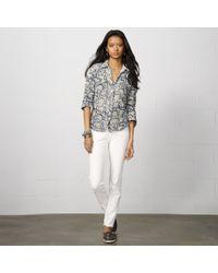 Denim & Supply Ralph Lauren | Blue Washed Out Denim Shirt | Lyst