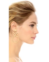 Amber Sceats - Metallic Simba Earrings - Lyst