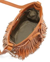 Isabella Fiore - Brown Festival Fringed Crossbody Bag - Lyst