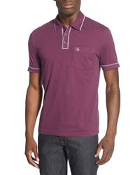 Original Penguin | Purple 'earl' Jersey Polo for Men | Lyst