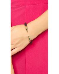 Alexis Bittar | Metallic Brake Hinge Bracelet - Black | Lyst