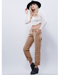 Free People - Brown Dickies Womens Wyatt Carpenter Pant - Lyst