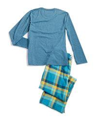 Original Penguin   Blue Two Piece Pajama Set for Men   Lyst