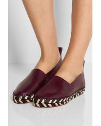Proenza Schouler - Multicolor Leather Espadrilles - Lyst