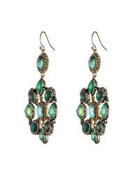 Alexis Bittar | Green Turquoise Mosaic Earrings | Lyst