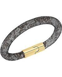 Swarovski | Black Stardust Bracelet | Lyst