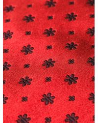 Kiton | Floral Embroidered Tie for Men | Lyst