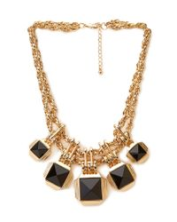 Forever 21 | Metallic Rhinestone-encrusted Statement Necklace | Lyst