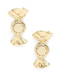 Marc By Marc Jacobs - Metallic 'lost & Found' Candy Stud Earrings - Oro - Lyst