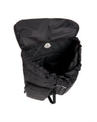 Moncler   Black Quilted Nylon Backpack for Men   Lyst