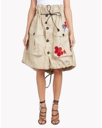 DSquared² - Natural Halia Skirt - Lyst