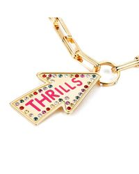 Maria Francesca Pepe | Metallic Women's Street Neon Thrills Necklace | Lyst