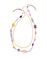 Venessa Arizaga - Multicolor You'Re Amazing Necklace - Multi - Lyst