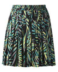 Piamita - Multicolor Pleated Tropical Skirt - Lyst