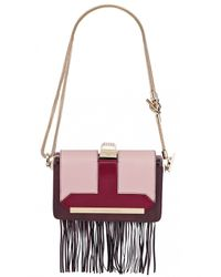 Azzaro | Multicolor Vendôme Chaine & Fringe Shoulder Clutch | Lyst