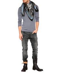 Fiorentini + Baker - Black Leather Biker Boots for Men - Lyst