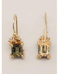 Ruth Tomlinson - Green Tourmaline Drop Earrings - Lyst