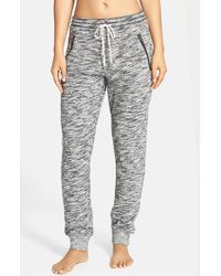 Honeydew Intimates - Gray Space Dye Terry Lounge Pants - Lyst
