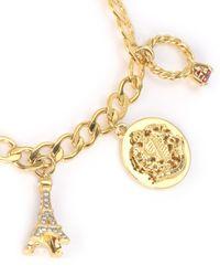 Juicy Couture | Metallic J'adore Charm Bracelet Bracelet | Lyst