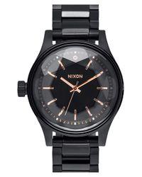 Nixon - Black 'the Facet' Bracelet Watch for Men - Lyst