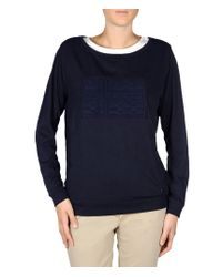 Napapijri | Blue Sweatshirt | Lyst