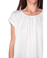 ONLY | White Short Sleeve Top | Lyst